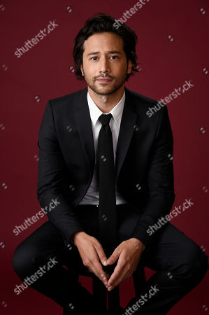 "Jesse Rath, a cast member in The CW series ""No Tomorrow,"" poses for a portrait during the 2016 Television Critics Association Summer Press Tour at the Beverly Hilton, in Beverly Hills, Calif"