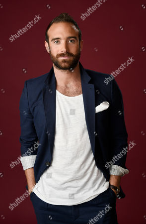 "Joshua Sasse, a cast member in The CW series ""No Tomorrow,"" poses for a portrait during the 2016 Television Critics Association Summer Press Tour at the Beverly Hilton, in Beverly Hills, Calif"