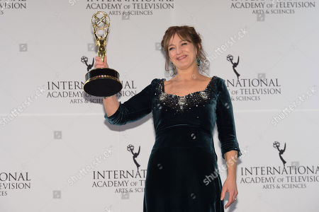Editorial photo of 43rd International Emmy Awards - Press Room, New York, USA - 23 Nov 2015