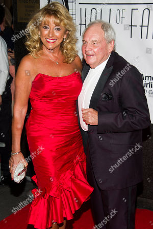 Tony Hatch and Maggie Hatch attend the Songwriters Hall of Fame 44th annual induction and awards gala on in New York