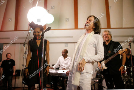 Siedah Garrett, Glen Ballard and David Pack perform at A Night for Jolie Levine Sponsored by Lupus LA & Sweet Relief Musicians Fund, at Henson Studios on Friday, May, 31, 2013 in Los Angeles