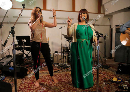 Wendy Wilson and Carnie Wilson perform at A Night for Jolie Levine Sponsored by Lupus LA & Sweet Relief Musicians Fund, at Henson Studios on Friday, May, 31, 2013 in Los Angeles