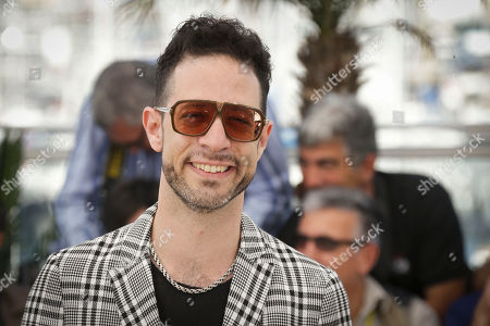 Actor and singer Gilad Kahana poses for photographers at the photo call for the film A Tale of Love and Darkness, at the 68th international film festival, Cannes, southern France
