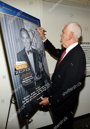 "Editorial photo of Academy of Television Arts & Sciences Presents: ""An Evening Honoring Carl Reiner"" - Reception, North Hollywood, USA - 13 Oct 2011"