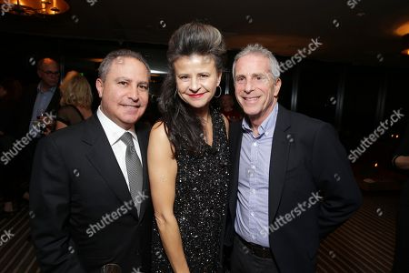 """EXCLUSIVE -The Walt Disney Studios, Alan Bergman, Tracey Ullman and Producer Marc Platt joined Alan Horn, Chairman of Walt Disney Studios, hosted a holiday gathering celebrating """"Into the Woods"""" on Wednesday, December 17 in Los Angeles, CA. The humorous and heartfelt musical, that has been nominated for 3 golden globe awards including Best Picture opens in theaters nationwide on"""