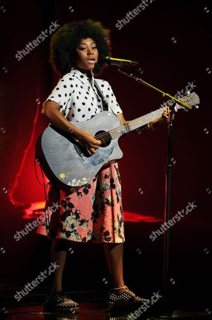 Stock Photo of EXCLUSIVE IMAGE Majesty Rose performs during American Idols Live! 2014 at the Broward Center for the Performing Arts on in Ft Lauderdale, Florida. (Photo by