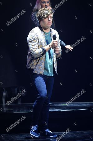EXCLUSIVE IMAGE Alex Preston performs during American Idols Live! 2014 at the Broward Center for the Performing Arts on in Ft Lauderdale, Florida. (Photo by