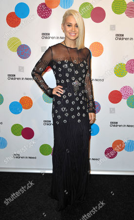 Kimberley Wyatt seen at An Evening With The Stars In Aid Of Children In Need, on Wednesday in London