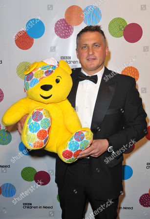Darren Gough seen at An Evening With The Stars In Aid Of Children In Need, on Wednesday in London