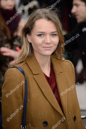 Editorial photo of Britain Burberry Prorsum Fashion Show Arrivals, London, United Kingdom - 12 Jan 2015
