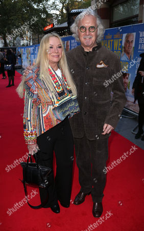 Pamela Stephenson and Billy Connolly arrive for the World Premiere of 'What We Did On Our Holiday', at the Odeon West End in central London