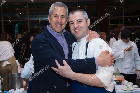 Stock Photo of Restaurateur Danny Meyer, left, and Chef Abram Bissell attend the Careers Through Culinary Arts Program (C-CAP) Honors Award annual benefit at Pier Sixty, in New York