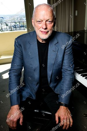 David Gilmour poses for a portrait in Los Angeles. Gilmour is on a rare tour right now, his first in a decade, stopping in New York before a European leg that continues through summer