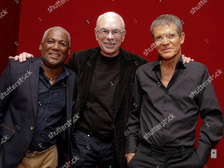 Jazz superstars David Sanborn and Jonathan Butler performed at the Cobb Energy Center as part of the Atlanta Jazz Roots Concert Series on in Atlanta. Jonathan Butler (l) and David Sanborn (r) with Larry Rosen, producer of the Jazz Roots Concert Series in Atlanta
