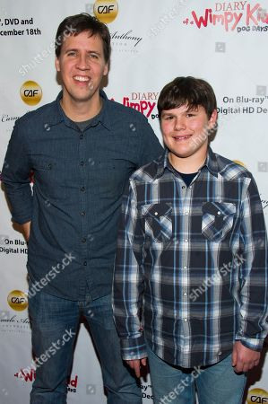 Editorial image of Diary of a Wimpy Kids Dog Days Blu-ray Screening, New York, USA - 14 Dec 2012