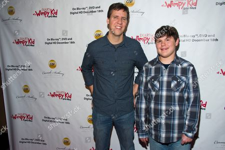 Editorial photo of Diary of a Wimpy Kids Dog Days Blu-ray Screening, New York, USA - 14 Dec 2012