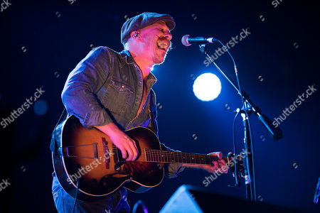 Foy Vance performs on stage, in Toronto, Canada