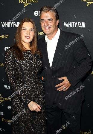 Barbara Broccoli and Chris North attend the premiere of Everything or Nothing: The Untold Story of 007 at The Museum of Modern Art on in New York