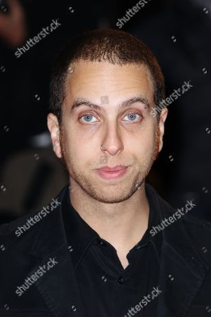 """Brandon Cronenberg arrives at screening for """"Rust and Bone (De rouille et d'os)"""" during the London Film Festival at The Odeon, Leicester Square on in London UK"""