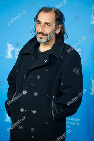 Actor Vangelis Mourikis poses for photographers at the photo call for the film Stratos during the 64th Berlinale International Film Festival, in Berlin
