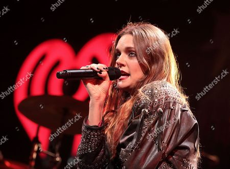 Stock Image of Tove Lo performs during Q102's iHeartRadio Jingle Ball 2015 at the Wells Fargo Center in Philadelphia. The Swedish singer-songwriter has been added to the Golden Globe nominations list for her work on Ellie Goulding's Love Me Like You Do from the Fifty Shades of Grey soundtrack. Lo, who co-wrote the song, was not originally listed as a nominee for best original song when the Globes announced its nominations earlier this month. But the Globes told The Associated Press, that Lo will now compete for the award because she wrote the pop hit along with nominees Max Martin, Savan Kotecha, Ilya Salmanzadeh and Ali Payami