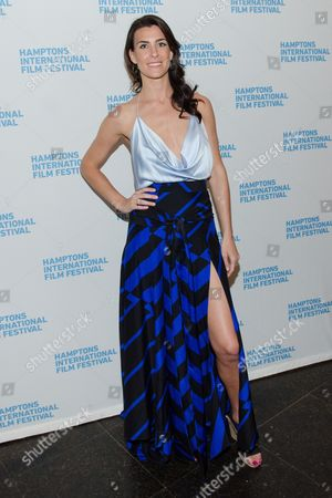 """Lilly Hartley attends the Hamptons SummerDocs Series opening night screening of """"Life Itself"""" at Guild Hall in East Hampton on in New York"""