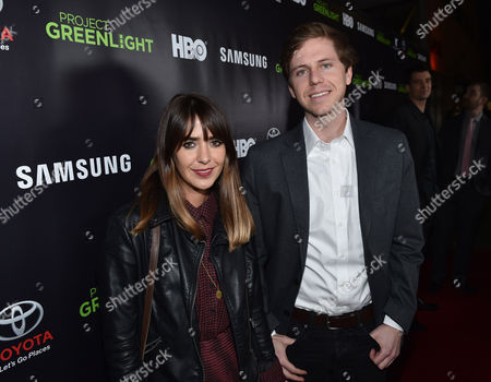 Ashley Barnhill and Kirk Johnson are seen at the HBO Project Greenlight Filmmaker Showcase on in Hollywood, Calif