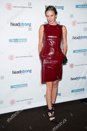 Stock Photo of Jill Demling attends the Headstrong Project Words of War benefit on in New York