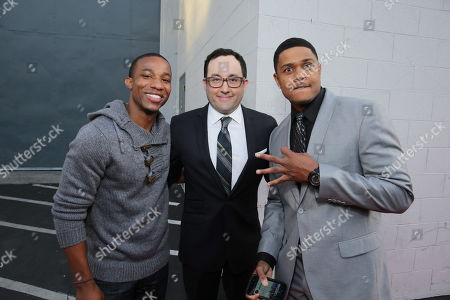 Arlen Escarpeta, PJ Byrne and Pooch Hall seen at LA Family Housing Awards at The Lot, in Hollywood, CA