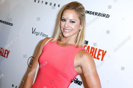 "Amy Paffrath arrives at the LA Premiere of ""I Am Chris Farley"" at the Linwood Dunn Theater, in Los Angeles"