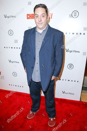 "Jeff Richards arrives at the LA Premiere of ""I Am Chris Farley"" at the Linwood Dunn Theater, in Los Angeles"