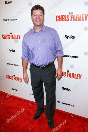 "Stock Picture of Pat Finn arrives at the LA Premiere of ""I Am Chris Farley"" at the Linwood Dunn Theater, in Los Angeles"