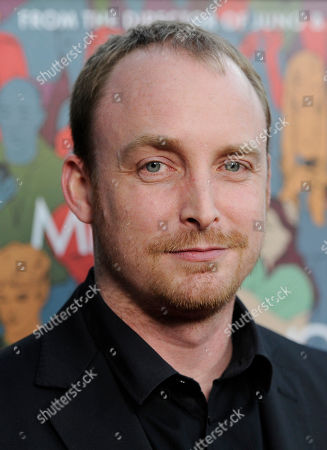 """Stock Image of Novelist Chad Kultgen arrives at the premiere of the film """"Men, Women & Children"""" at the Directors Guild of America, in Los Angeles"""