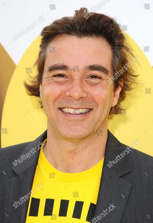 """Composer Heitor Pereira arrives at the Los Angeles premiere of """"Minions"""" at the Shrine Auditorium on"""