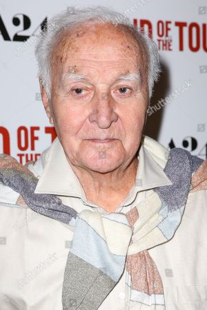 """Robert Loggia arrives at the LA Premiere of """"The End of the Tour"""" at the Writers Guild Theater,, in Beverly Hills, Calif"""