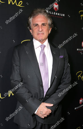 """Stock Image of Director John Herzfeld attends the Los Angeles Premiere of Millenium Entertainment's """"Reach Me"""" at Chinese 6 Theaters on in Los Angeles"""
