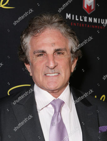 """Stock Picture of Director John Herzfeld attends the Los Angeles Premiere of Millenium Entertainment's """"Reach Me"""" at Chinese 6 Theaters on in Los Angeles"""