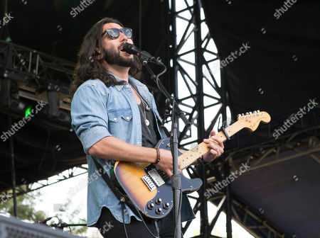 Ronald Michael Pope as Ron Pope performs during Music Midtown 2014 at Piedmont Park, in Atlanta