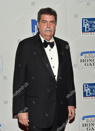 Vice chairman of the National Association for Stock Car Auto Racing Mike Helton attends the NASCAR Foundation's inaugural honors gala at the Marriott Marquis, in New York