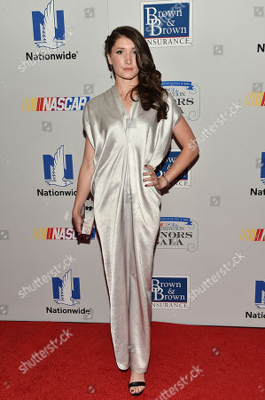 NASCAR driver Julia Landauer attends the NASCAR Foundation's inaugural honors gala at the Marriott Marquis, in New York