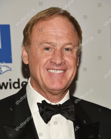NASCAR driver Rusty Wallace attends the NASCAR Foundation's inaugural honors gala at the Marriott Marquis, in New York