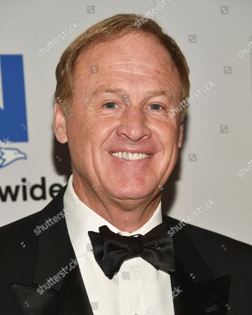 Stock Photo of NASCAR driver Rusty Wallace attends the NASCAR Foundation's inaugural honors gala at the Marriott Marquis, in New York