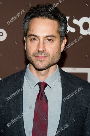 """Omar Metwally attends the premiere of the USA Network's new series """"Dig"""" on in New York"""