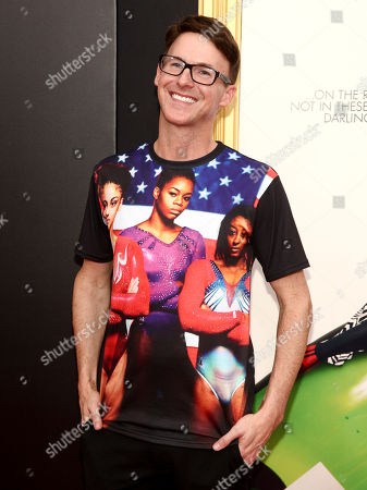 """Michael Buckley attends the premiere of """"Absolutely Fabulous: The Movie"""" at the SVA Theatre, in New York"""