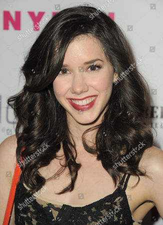 Stock Picture of Actress Erica Dasher arrives at the Nylon Magazine: Summer Music Issue Celebration on in Los Angeles, Calif