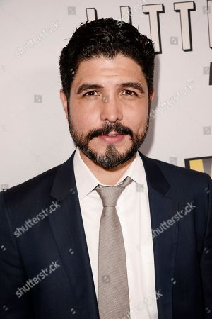 """Writer/Director/Producer Alejandro Monteverde seen at Open Road Films Los Angeles Premiere of """"Little Boy"""" at Regal Cinemas LA Live Stadium 14 on Tuesday, April 14], 2015, in Los Angeles, CA"""