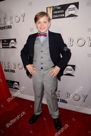 """Editorial picture of Open Road Films Premiere of """"Little Boy"""", Los Angeles, USA - 14 Apr 2015"""