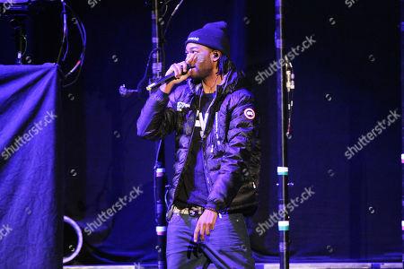 Editorial photo of Party Next Door in concert- , Atlanta, USA - 7 Nov 2013