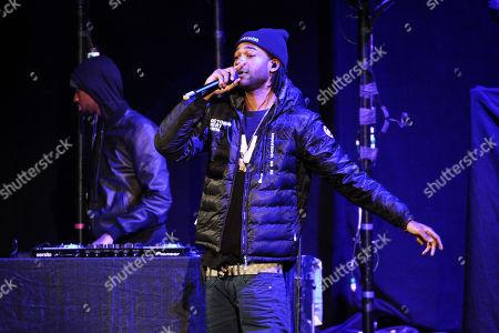 Stock Photo of Party Next Door performing at Philips Arena, in Atlanta