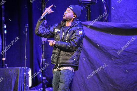 Editorial image of Party Next Door in concert- , Atlanta, USA - 7 Nov 2013